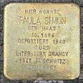 Stolperstein Paula Simon (Springerweg 6 Pohl-Göns).jpg