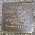 Stolperstein Puderstr 22 Arnold Graetz.JPG