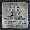 Stolperstein für Aloisia Regenfelder.JPG