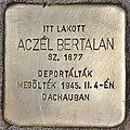 Stolperstein für Bertalan Aczel (Budapest).jpg