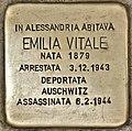 Stolperstein für Emilia Vitale (Alessandria).jpg