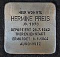 Stolperstein für Hermine Preis.JPG