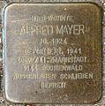 Stolpersteine Krefeld, Alfred Mayer (Bruchstraße 31).jpg