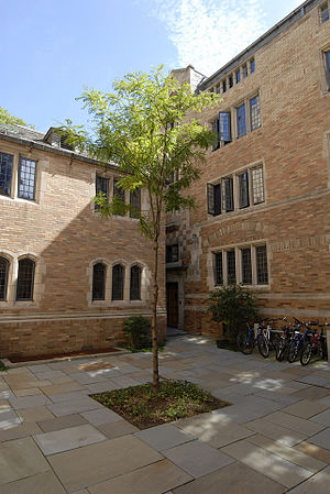 Trumbull College - Stone Courtyard, Trumbull College