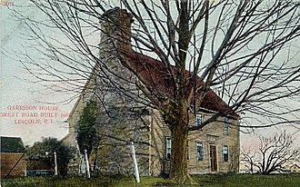 Stone ender - Eleazer Arnold House, 1691, Lincoln, Rhode Island