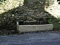 Stone trough on Talbot Street, Chipping - geograph.org.uk - 753557.jpg