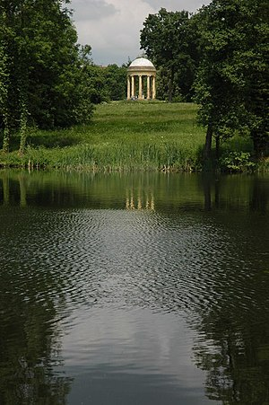 English landscape garden - Rotunda at Stowe Garden (1730-38)
