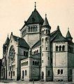 Strasbourg synagogue quai Kléber vue façade 1898-1940.jpg