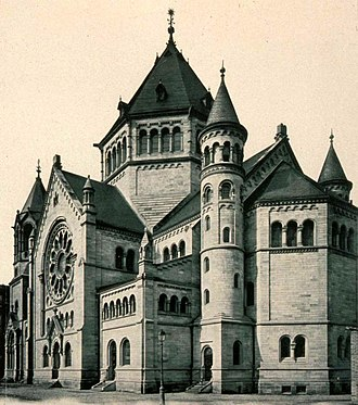 Wormser Dom - The Strasbourg synagogue modeled on the Worms cathedral