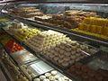 Street sweets mithai shop in Goa, India.jpg