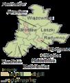 Subcarpathian Voivodeship - jarosławski county gminas.png