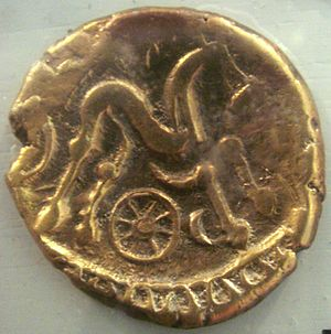 Suessiones - Coin of the Suessiones.
