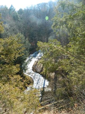 Shades State Park - Image: Sugar Creek from Devil's Backbone, Pine H Ills Nature Preserve