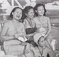 Sukarsih, Nana Mayo, Netty Herawaty, and Djuriah Karno in Manila Film Varia May 1954 p15.jpg