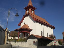 The Reformed church of Sullens