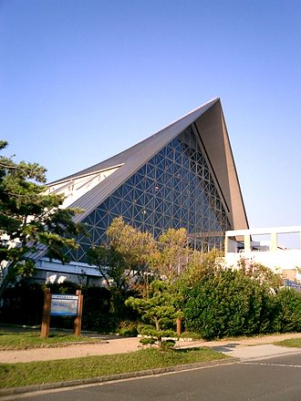 Suma-ku, Kobe - Suma Aquarium at Suma beach