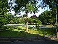 Summer morning at Tettenhall Green paddling pool - geograph.org.uk - 1352301.jpg