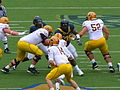 Sun Devils on offense at Arizona State at Cal 2010-10-23 11.JPG