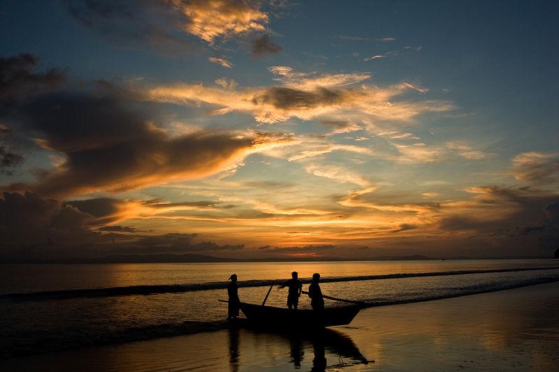 File:Sunset at Andaman Islands.jpg