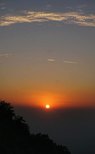 Mount Abu - Sunset at Mount Abu