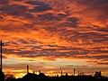 Sunset taken from Church Bridge - geograph.org.uk - 605166.jpg
