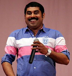 Suraj Venjaramoodu - On the inaugural ceremony of Eastman Colors, Vembayam