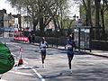 Susan Chepkemi & Margaret Okayo (3rd & 4th) London Marathon 2005.jpg