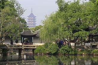 Humble Administrator's Garden - Image: Suzhou Zhuozheng Yuan 2015.04.23 08 13 49