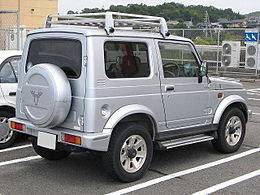 Suzuki-JimnySierra-2nd 1995-rear.jpg