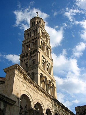 Venice and Renaissance Italy influenced all the architecture of Dalmatia:  Cathedral of Spalato (Split)