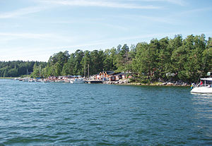 Svartsö - Svartsö in July 2009