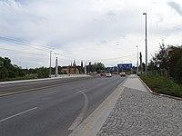 Svatovítská, Svatovítský most, směr křižovatka Prašný most.jpg