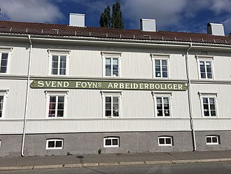Svend Foyn - Svend Foyns Arbeiderboliger at Tønsberg in Vestfold