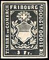 Switzerland Fribourg 1862-1867 revenue 3Fr - S13A.jpg
