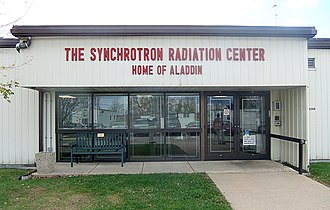 Synchrotron Radiation Center - Entrance to the Synchrotron Radiation Center, 2011.
