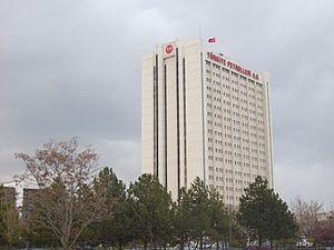 Türkiye Petrolleri Anonim Ortaklığı - Türkiye Petrolleri Anonim Ortaklığı building in Ankara