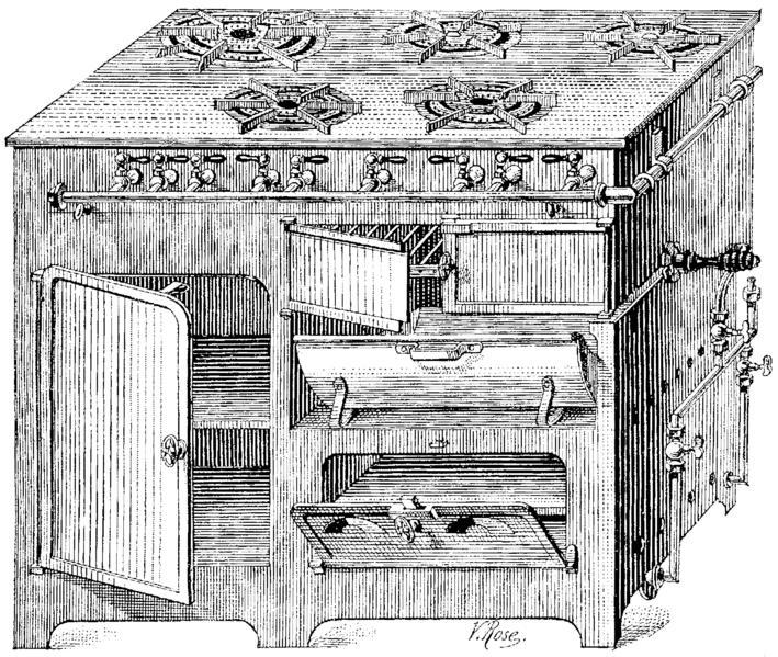 file t6 d551 fig 413 cuisini re au gaz petit. Black Bedroom Furniture Sets. Home Design Ideas
