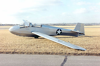 Schweizer SGS 2-12 - TG-3A preserved at the National Museum of the United States Air Force