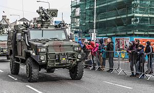Cavalry Corps (Ireland) - RG-32M Outrider, in use with the Cavalry Corps as a Light Tactical Armoured Vehicle (LTAV)