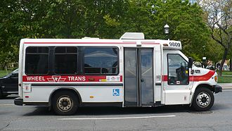 Wheel-Trans - Image: TTC Wheel Trans 9809