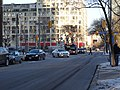TTC bus 7793 proceeding west on the Esplanade, 2015 01 13 (3) (16093285828).jpg