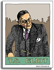 T. S. Eliot in 1938 by Wyndham Lewis