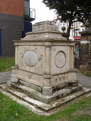 Putney Old Burial Ground - Tomb of Robert Wood