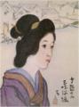 TakehisaYumeji-1921-Ten Themes of Woman Shamisenbori.png