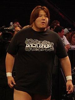 Takeshi Morishima Japanese professional wrestler