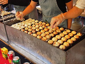 Takoyaki - Image: Takoyaki at the Richmond Night Market by Squeaky Marmot