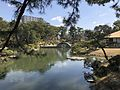 Takueichi Pond and Kokokyo Bridge in Shukkei Garden 1.jpg