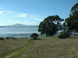 Point Pinole Regional Shoreline regional park in San Pablo Bay, California
