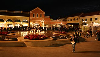 Deer Park, New York - Tanger Outlets at the Arches