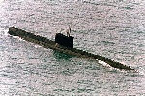 Tango-class submarine - Image: Tango class submarine